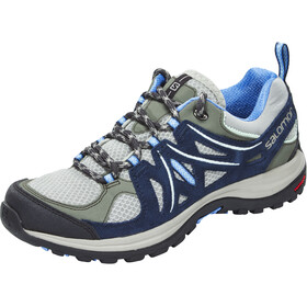 Salomon W's Ellipse 2 Aero Shoes Titanium/Deep Blue/Petunia Blue